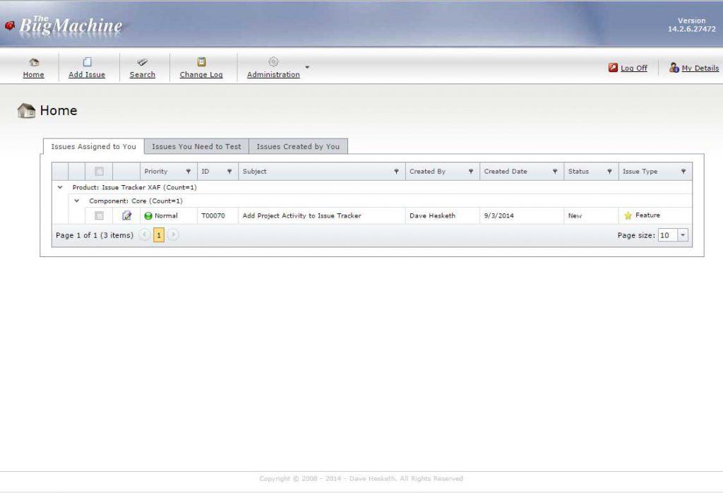 1_IssueTracker_Dashboard